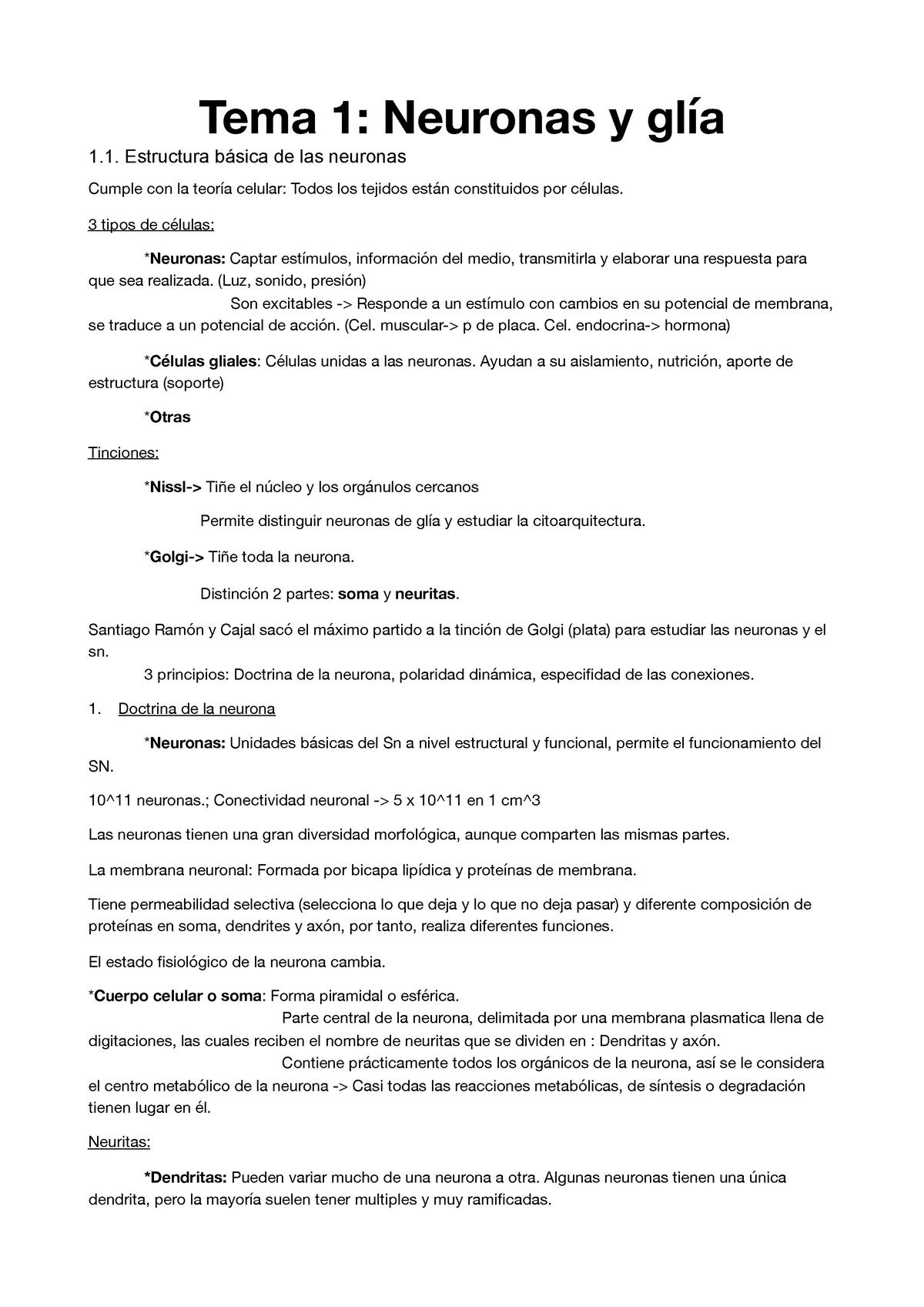 Tema 1 Bio Pdf Apuntes 1 361043 Biologia Del
