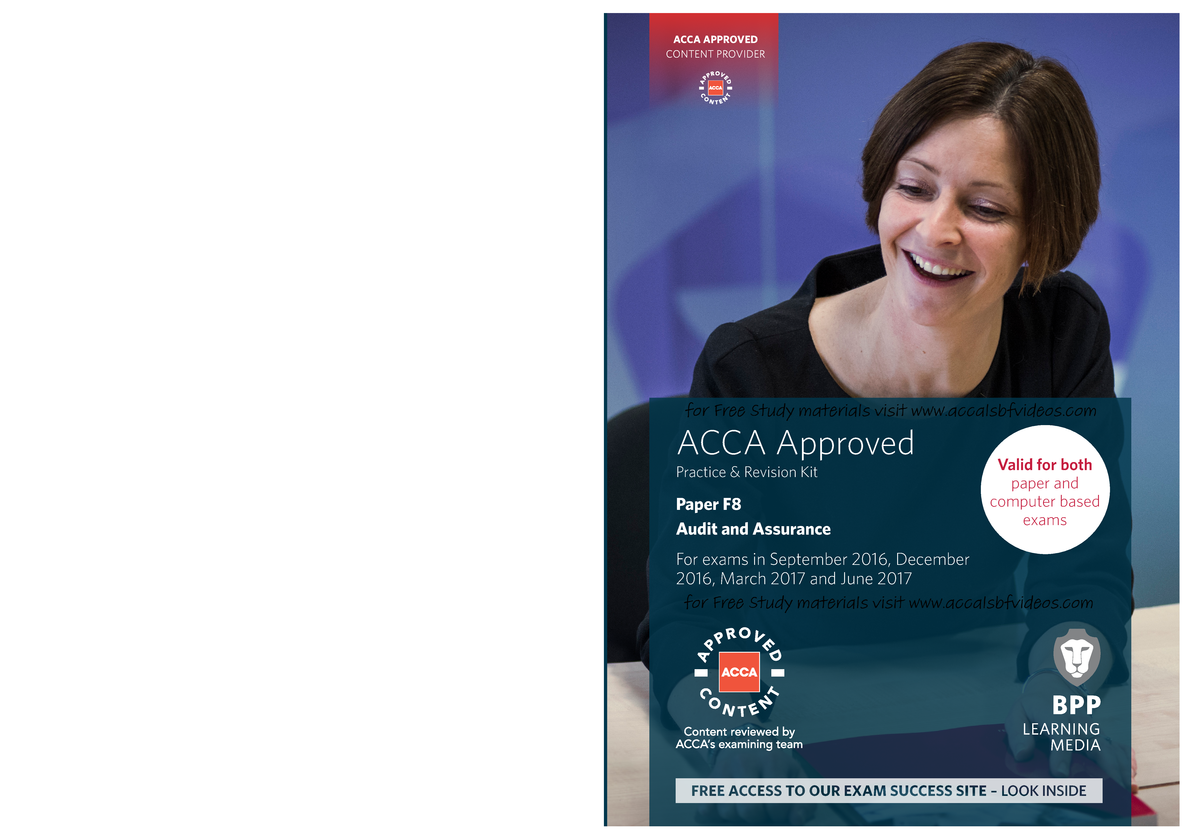 ACCA F8 - Audit and Assurance Revision Kit 2016 ( PDFDrive