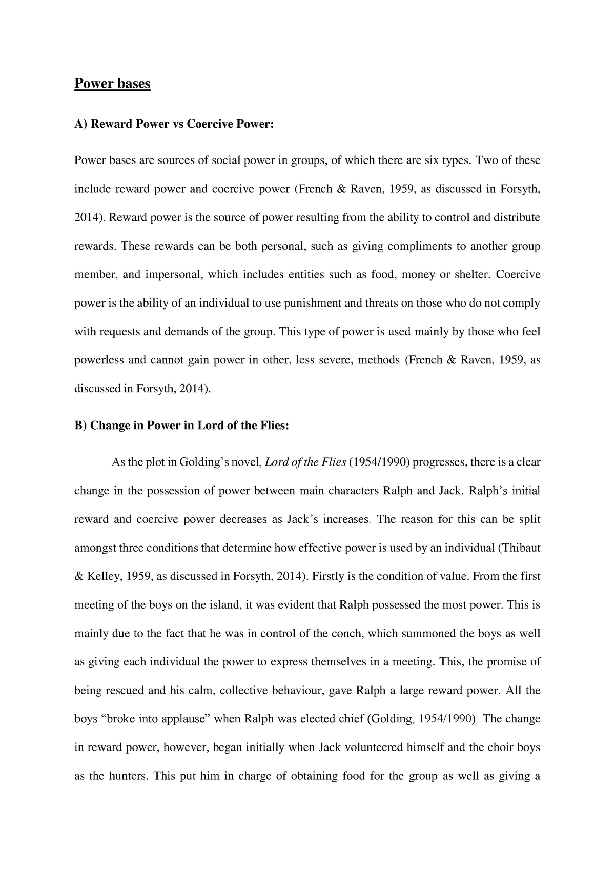 paper  essay group dynamics assignment   and final paper