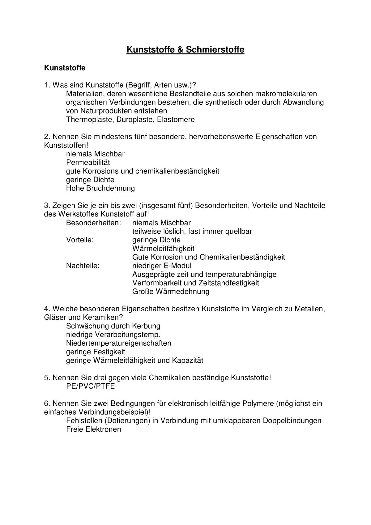 Fragenkatalog Mit Antworten 231133 300 Tu Chemnitz