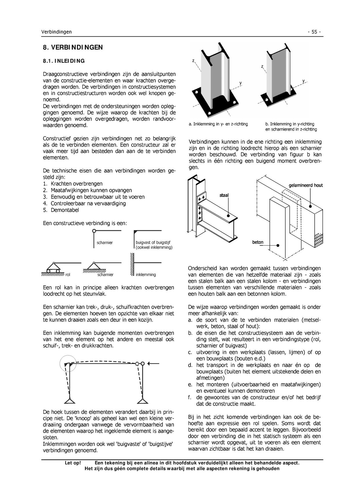 Hoofdstuk 8 Verbindingen Technologie 3 Constructies