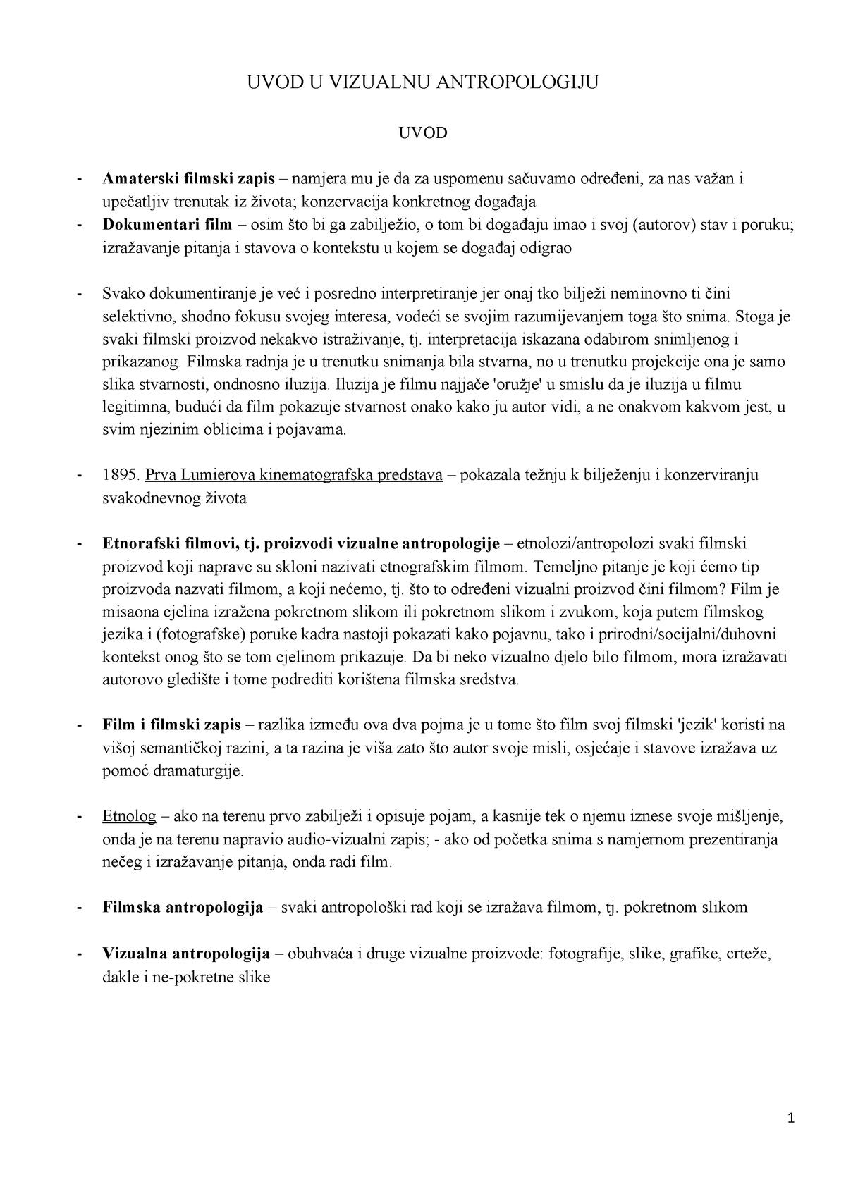 Antropološke tehnike upoznavanja
