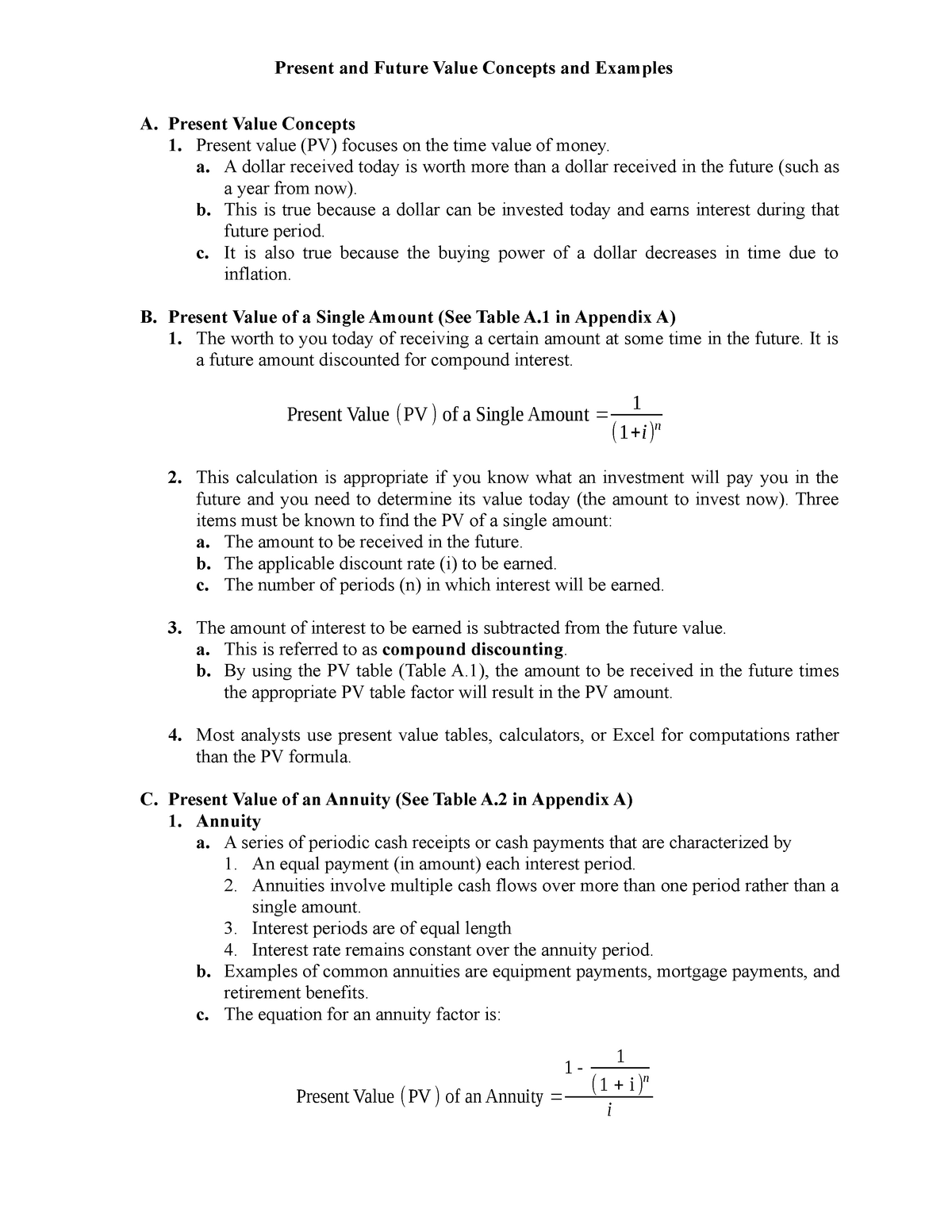 9 Doc Lecture Notes Acc 1001 Financial Accounting 1