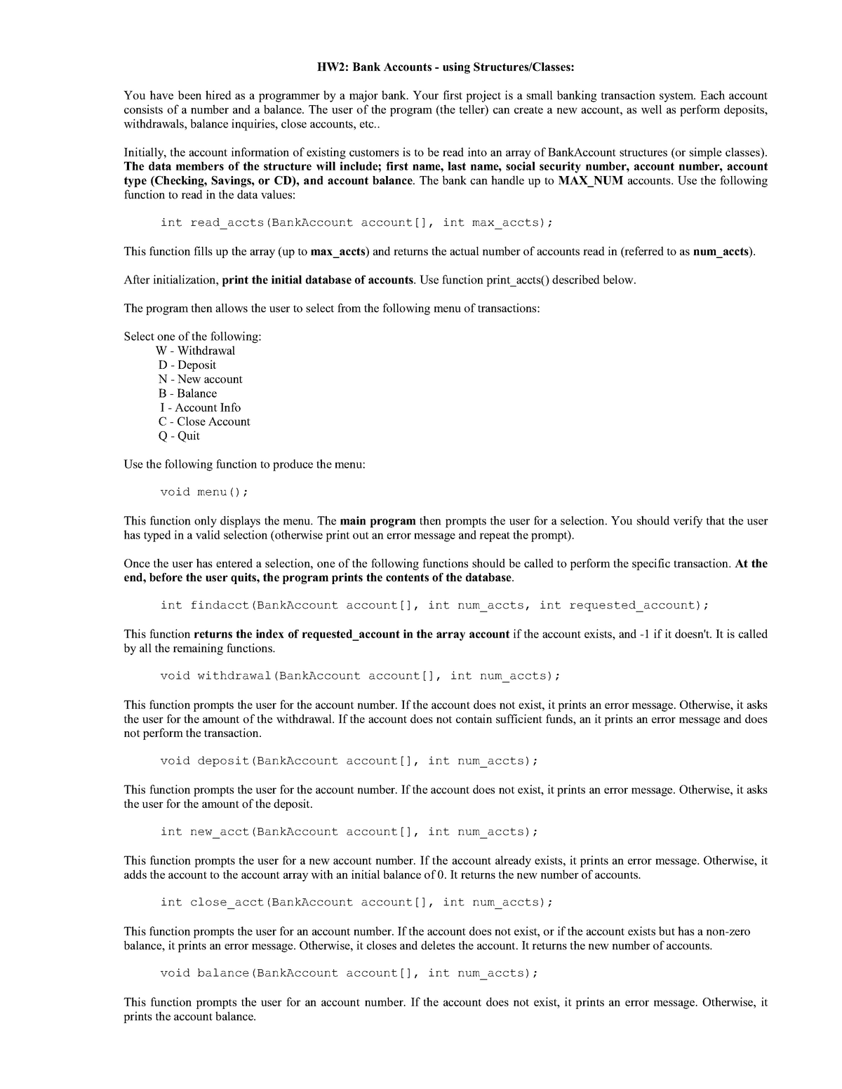 Simple Bank Database