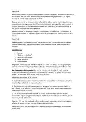 La Vaca Resumen Comunicacion Oral Y Escrita 6201121 Ucsm Studocu