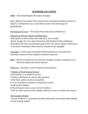 psychological science gazzaniga 6th edition