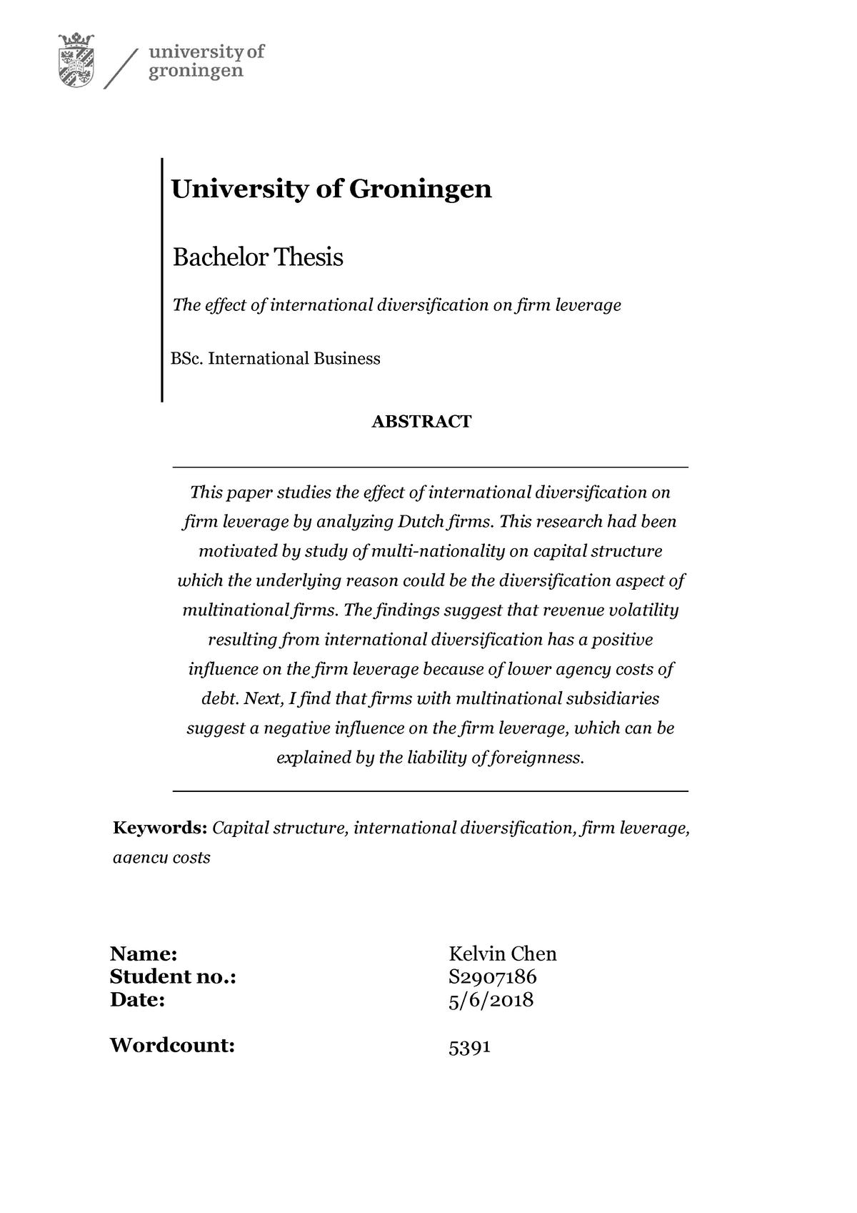 Bachelor thesis voorbeeld esl dissertation writer sites gb
