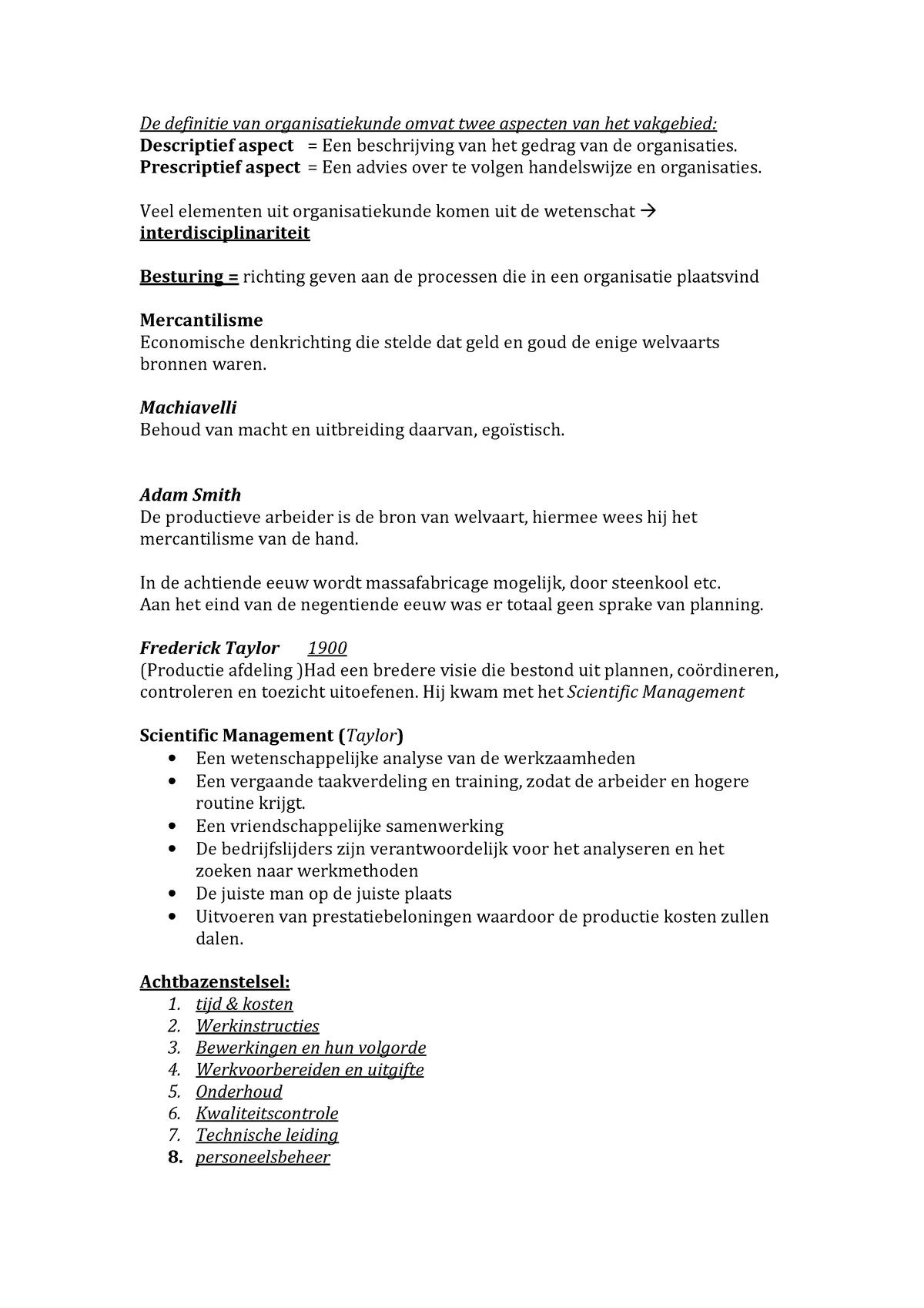 4a62967d9e0 Samenvatting grondslagen - Bedrijfskunde 1000BDK_13 - StudeerSnel.nl