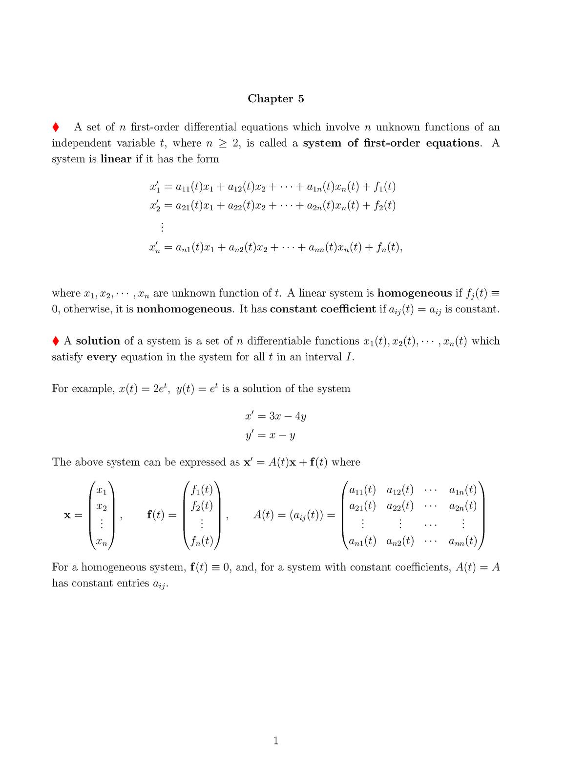 Summary Math 1005 Math 1005 19 Mar 2019 - StuDocu