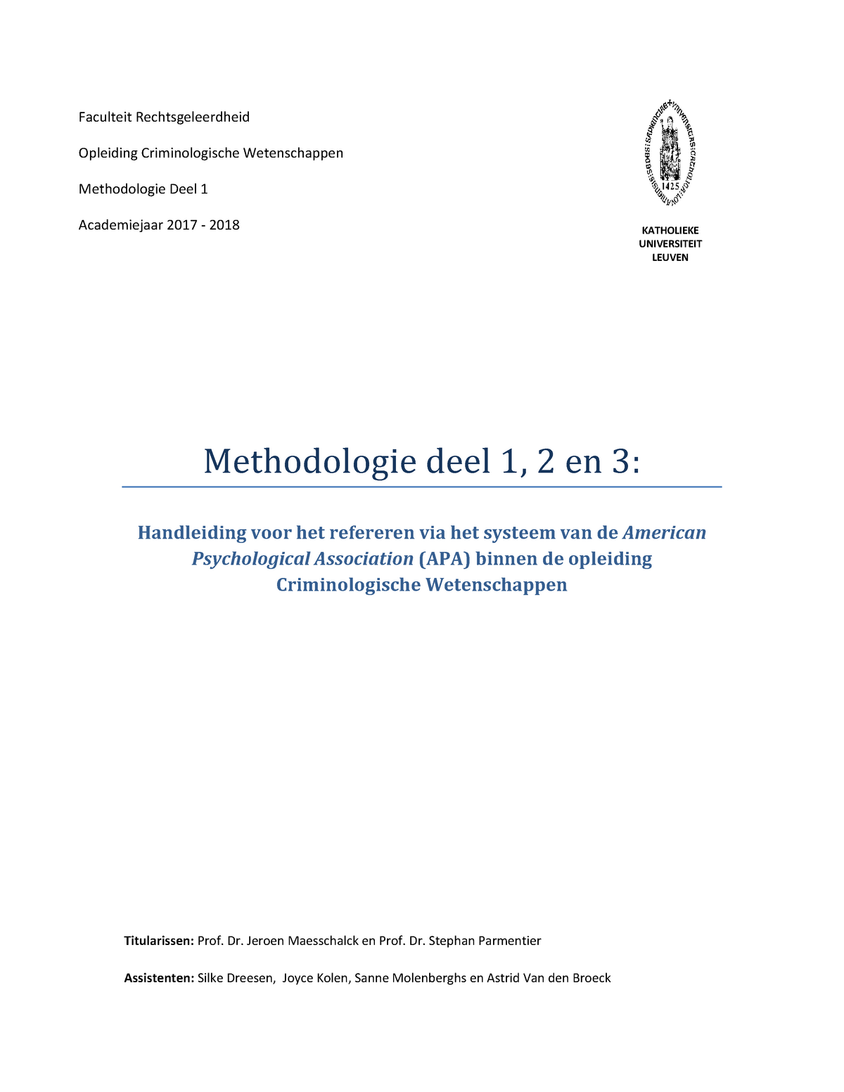thesis kuleuven criminologie
