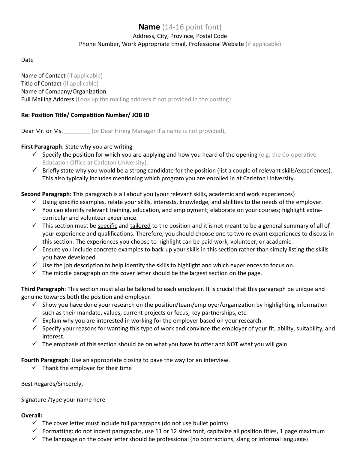 Cover Letter In Bullet Point Format from d20ohkaloyme4g.cloudfront.net