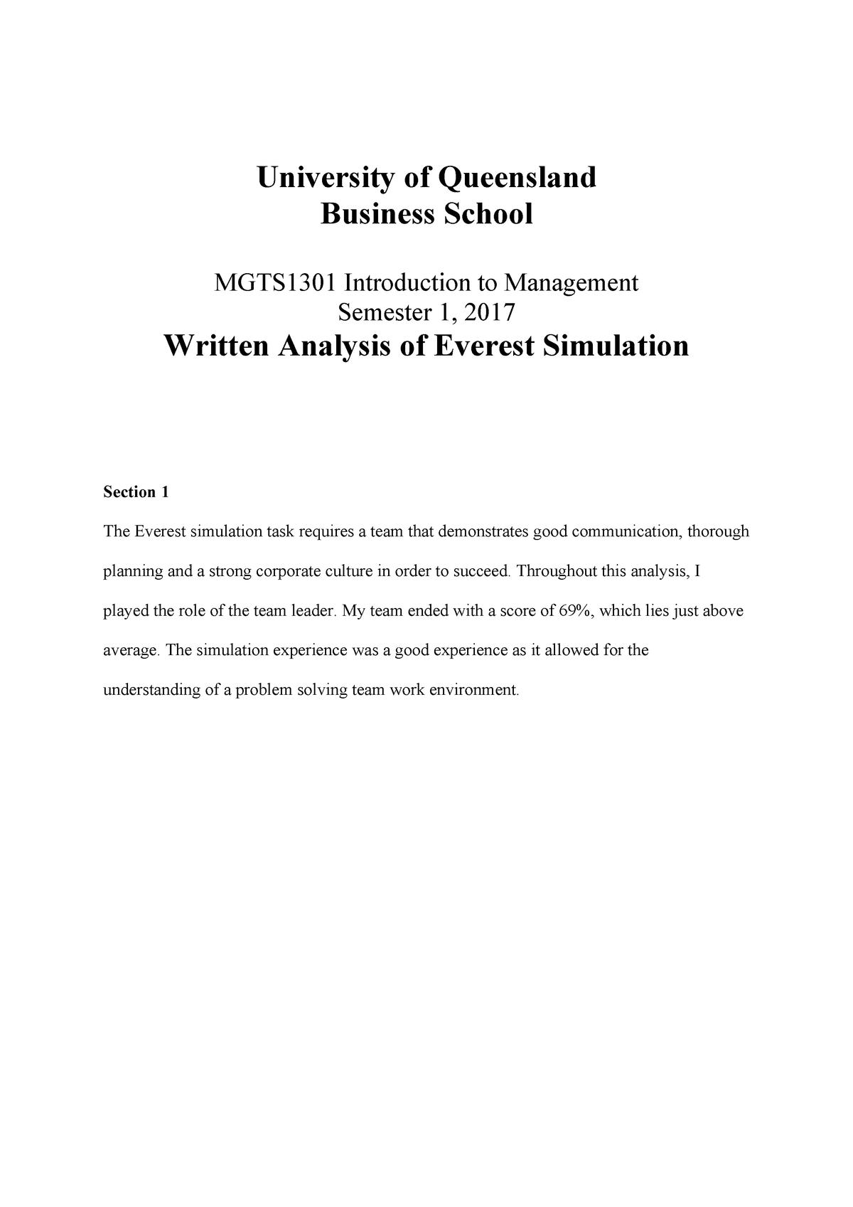 analysis example paragraph