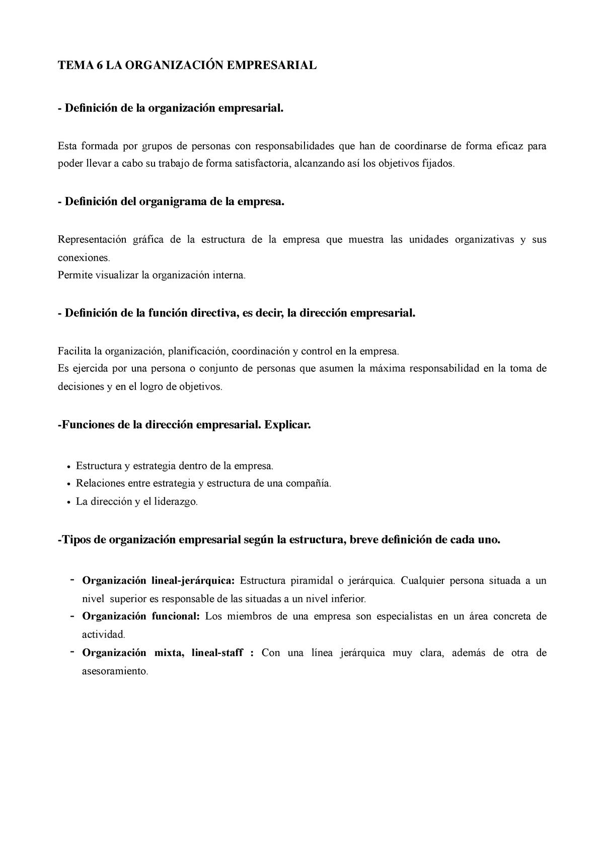 Tema 6 De Empresas De La Comunicación Deusto Studocu