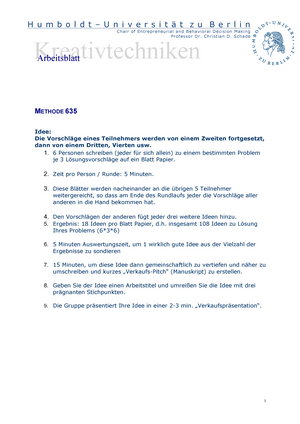 Übungen - SS 2015 Arbeitsblatt 635 System - 70630: Applied ...