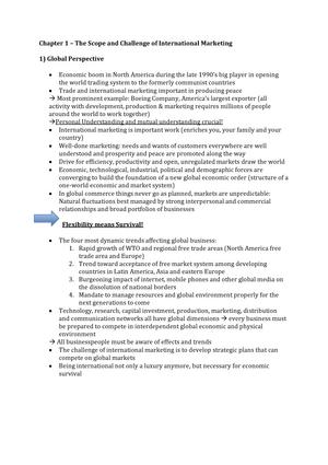 b7fe6c5ce38 Summary International Marketing 13 Jan 2015 - StuDocu