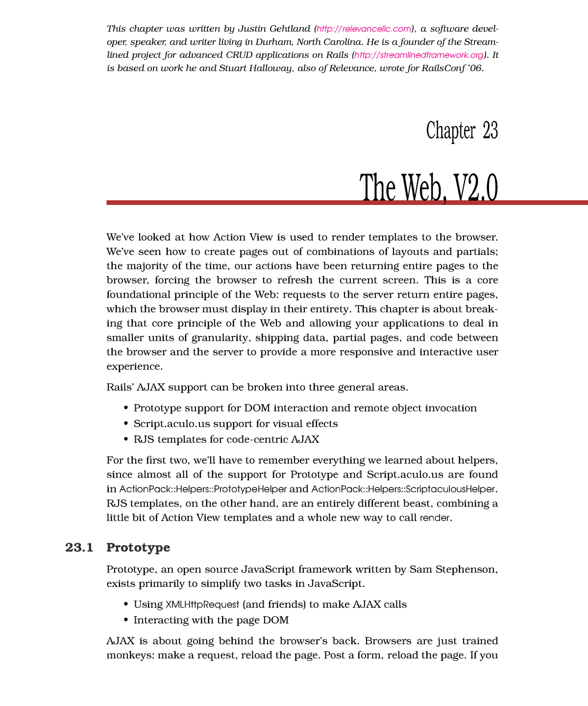 Chapter 23 - The Web, V2 - The Web, V2 0 - EDA397: Agile development