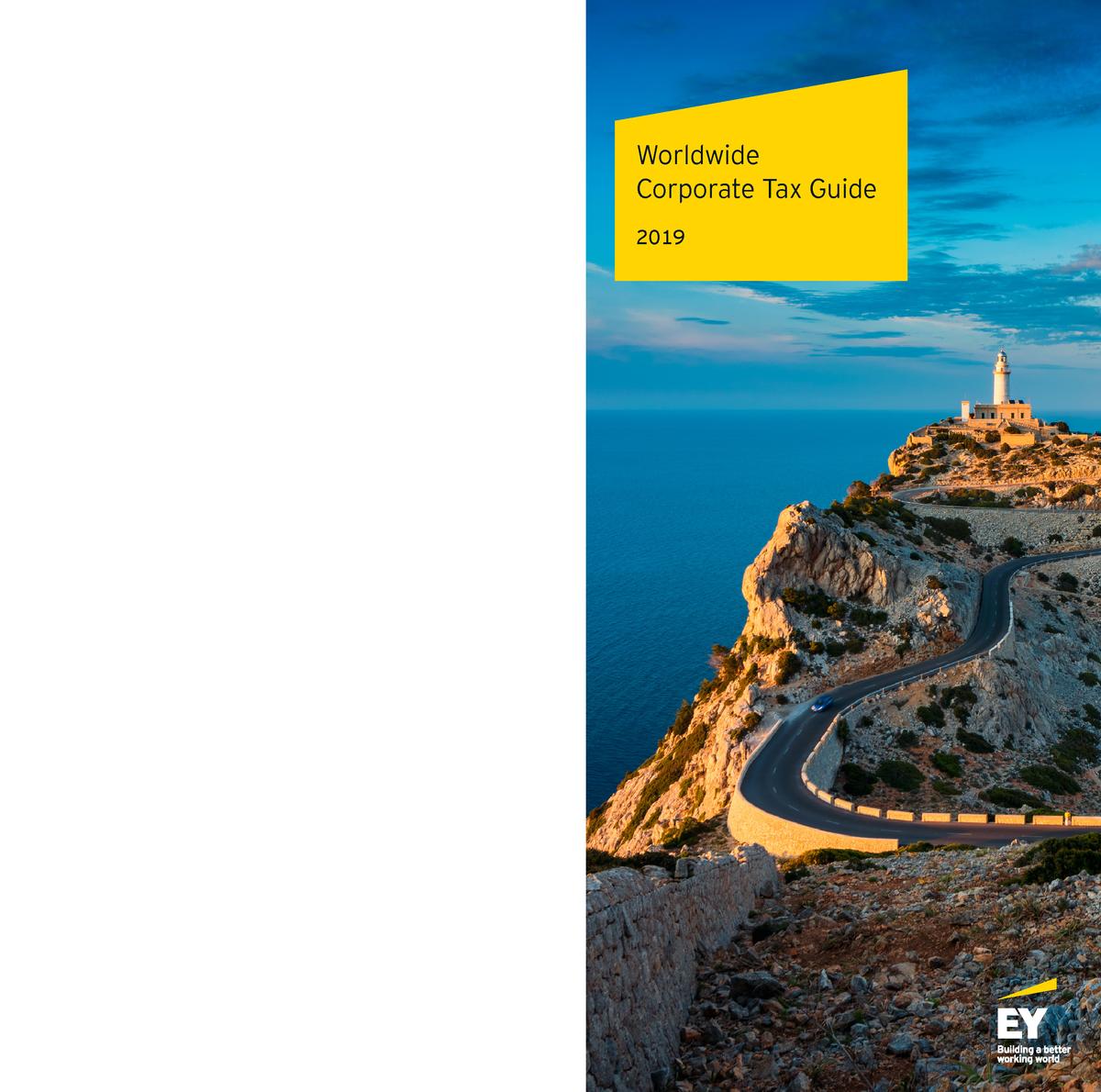 EY 2019 Worldwide Corporate Tax Guide - Tax Compliance - StuDocu