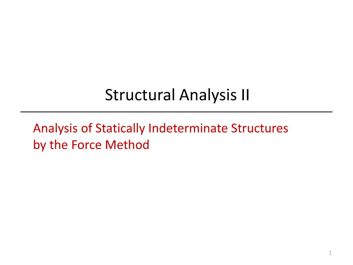 Lecture notes, lectures 6-10 - Advanced Structural Analysis