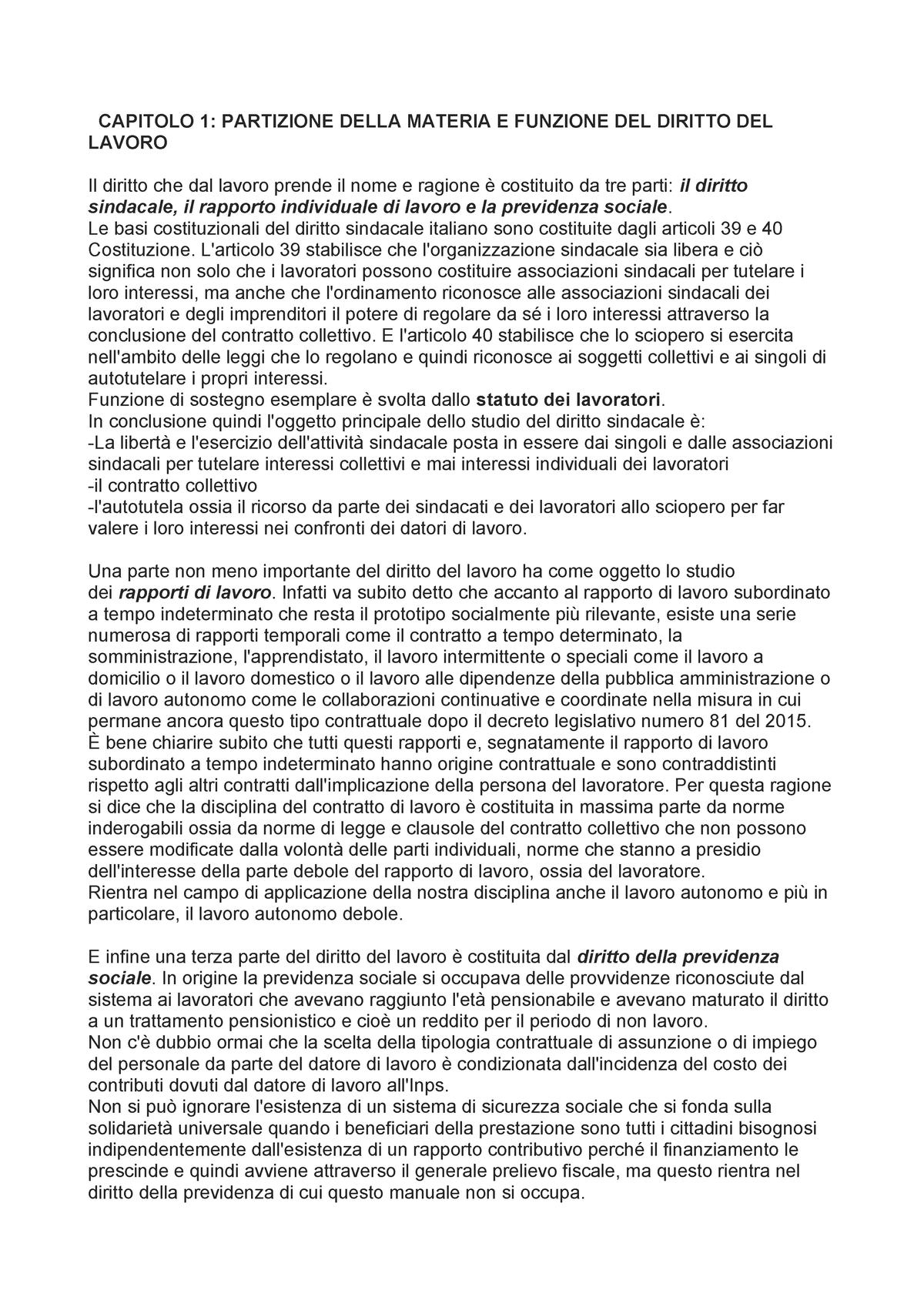 Diritto dei lavori e dell'occupazione - Giuseppe Santoro ...