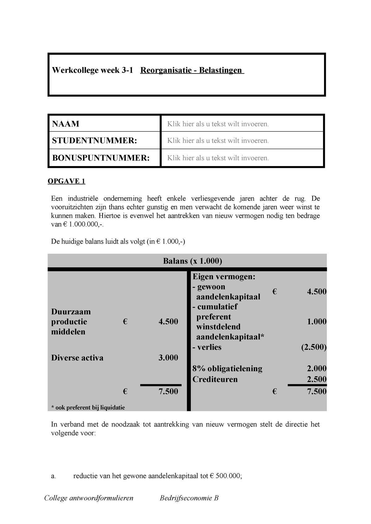 hoofdstuk 8 aandelen en dividend
