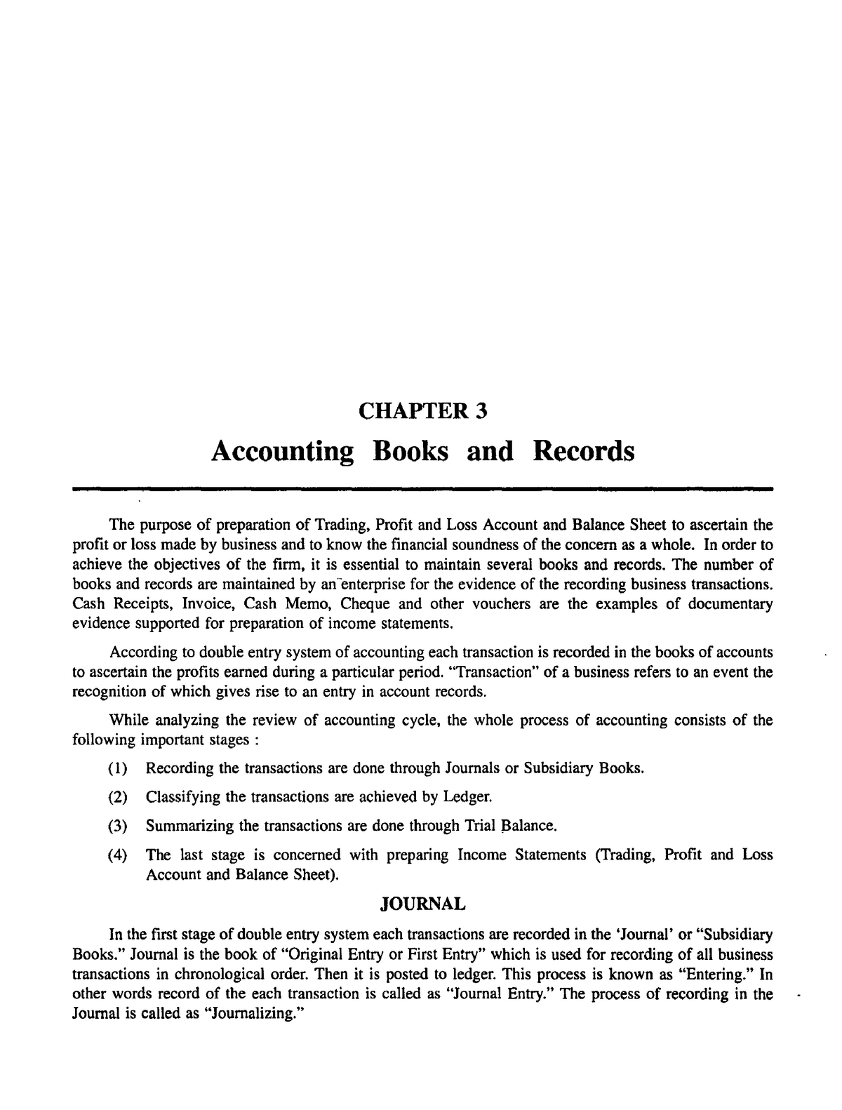Chapter 3 Accounting Books and Records - AC310 - StuDocu