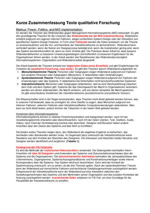 Zusammenfassung Texte Einführung In Die Qualitative Forschung
