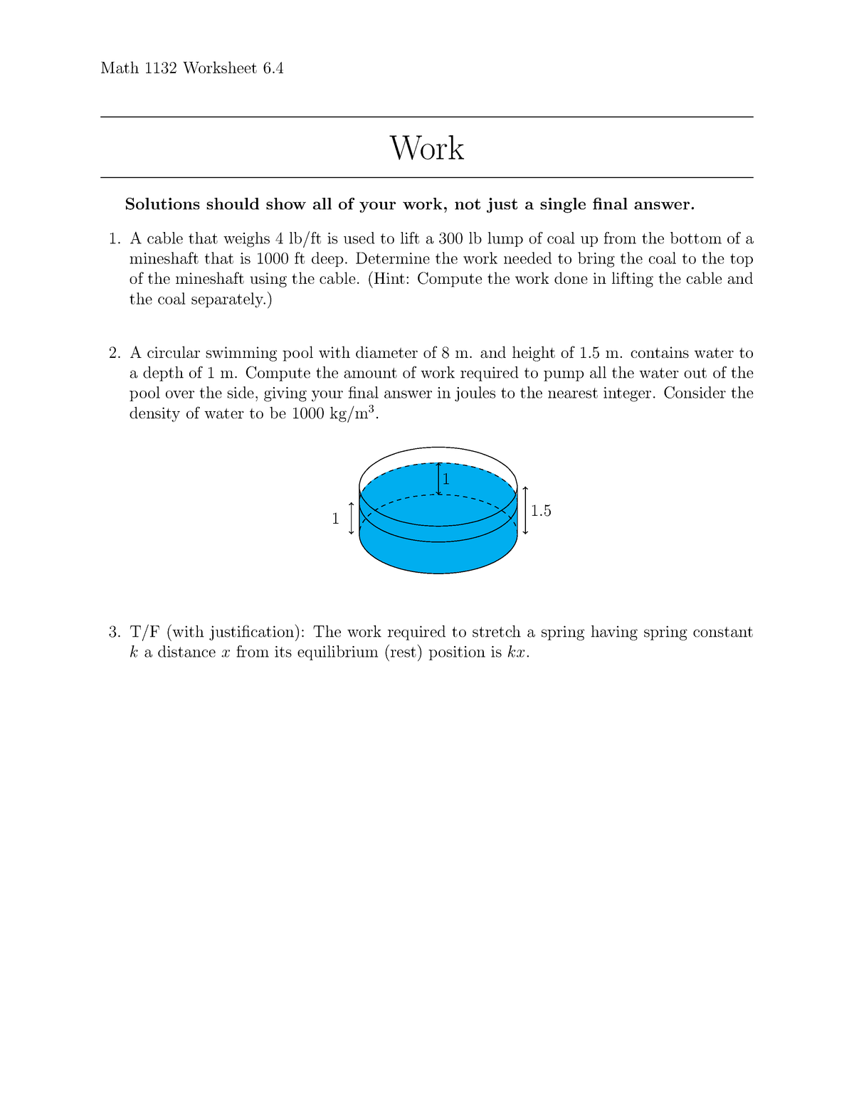 Seminar assignments - Worksheet 6 4 and 7 - 11 11 - UConn
