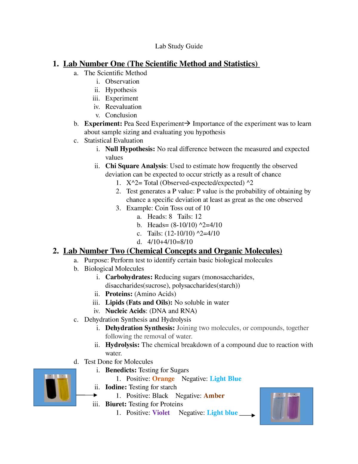 Biology Semester Exam Study Guide Flashcards - Cram.com