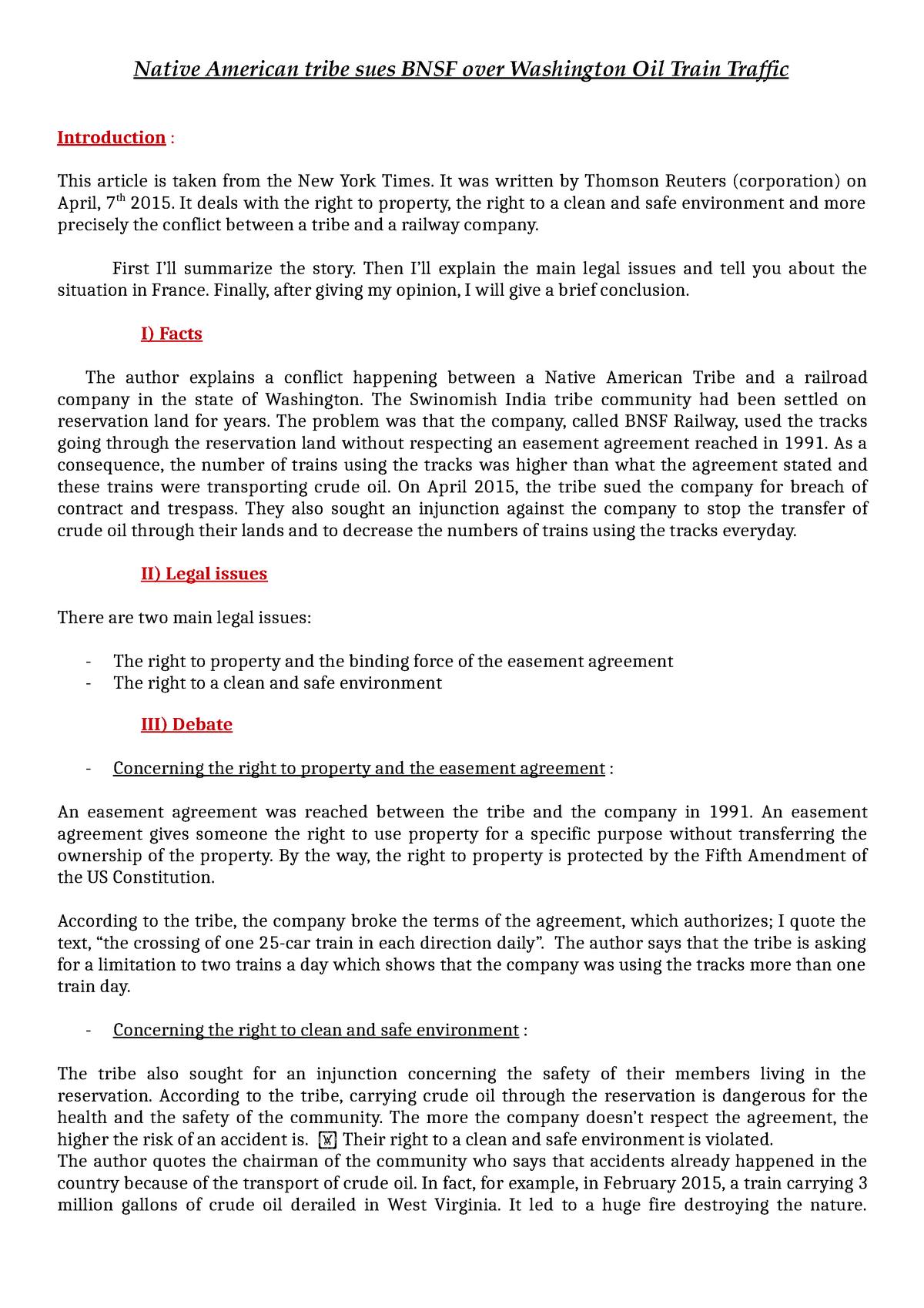 Business Law - Texte 3 - Business Law - StuDocu