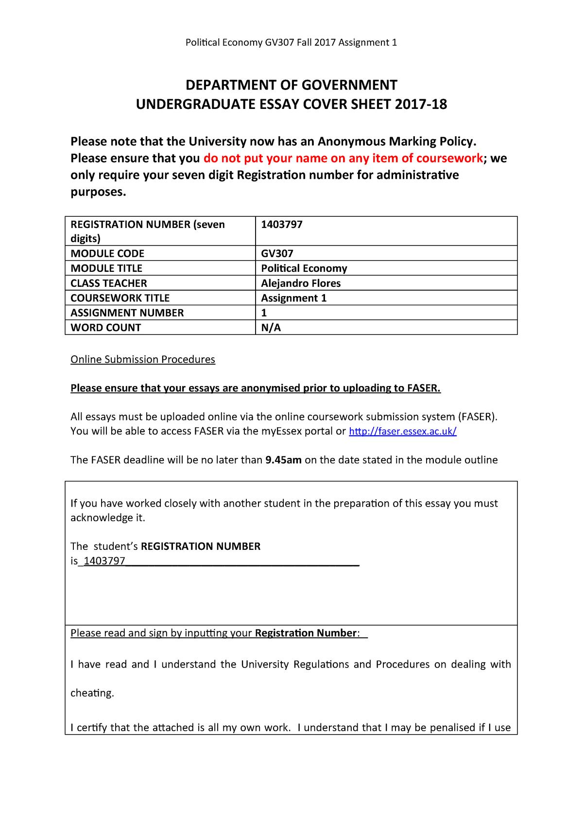 university of essex education