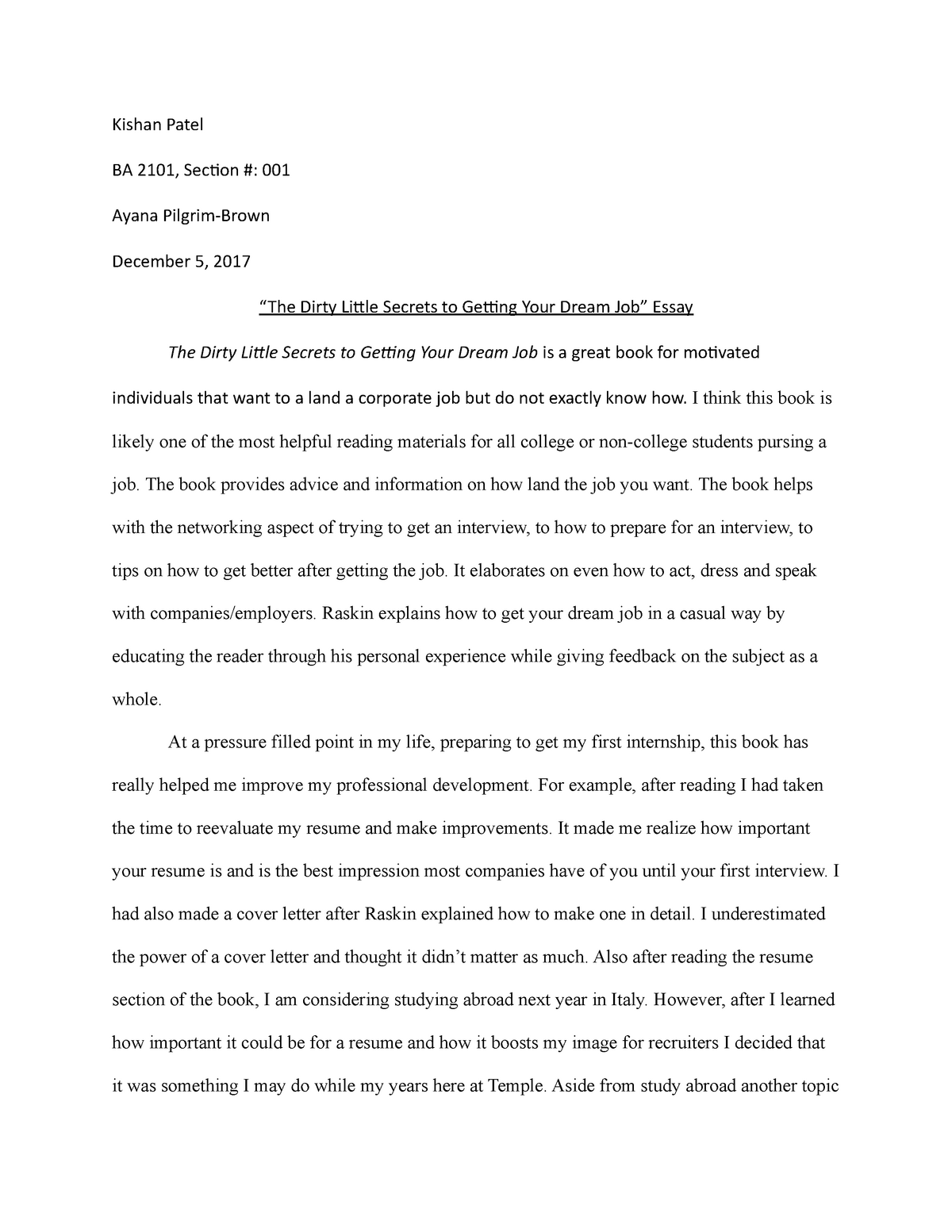 High School Essays Topics  How To Write An Essay High School also Essay On Health And Fitness Essay My Dream Job With Essay About My Future Dreams Papers  Thesis For A Persuasive Essay