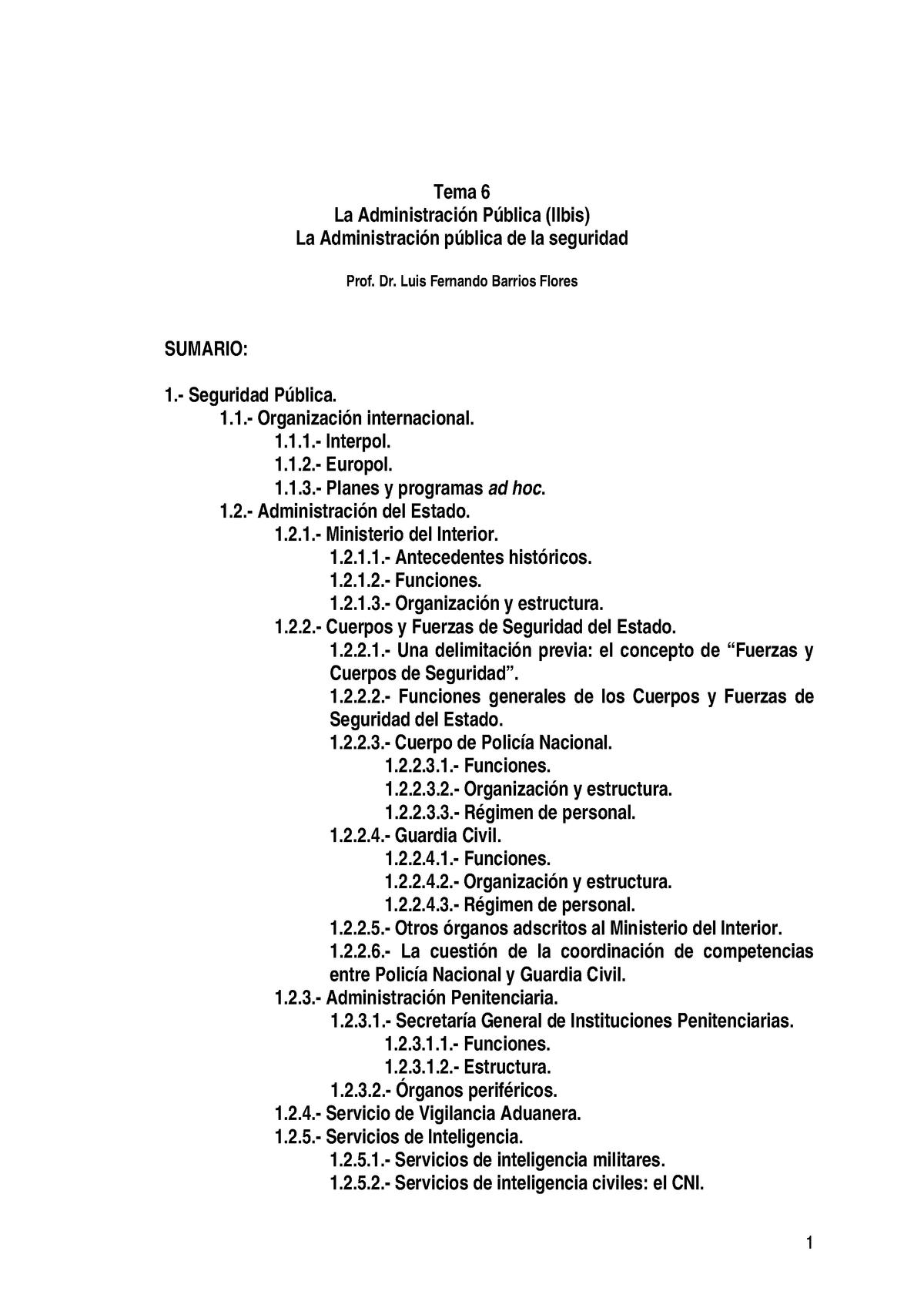 Temas 6 12 Derecho Administrativo Prof Luis Fernando