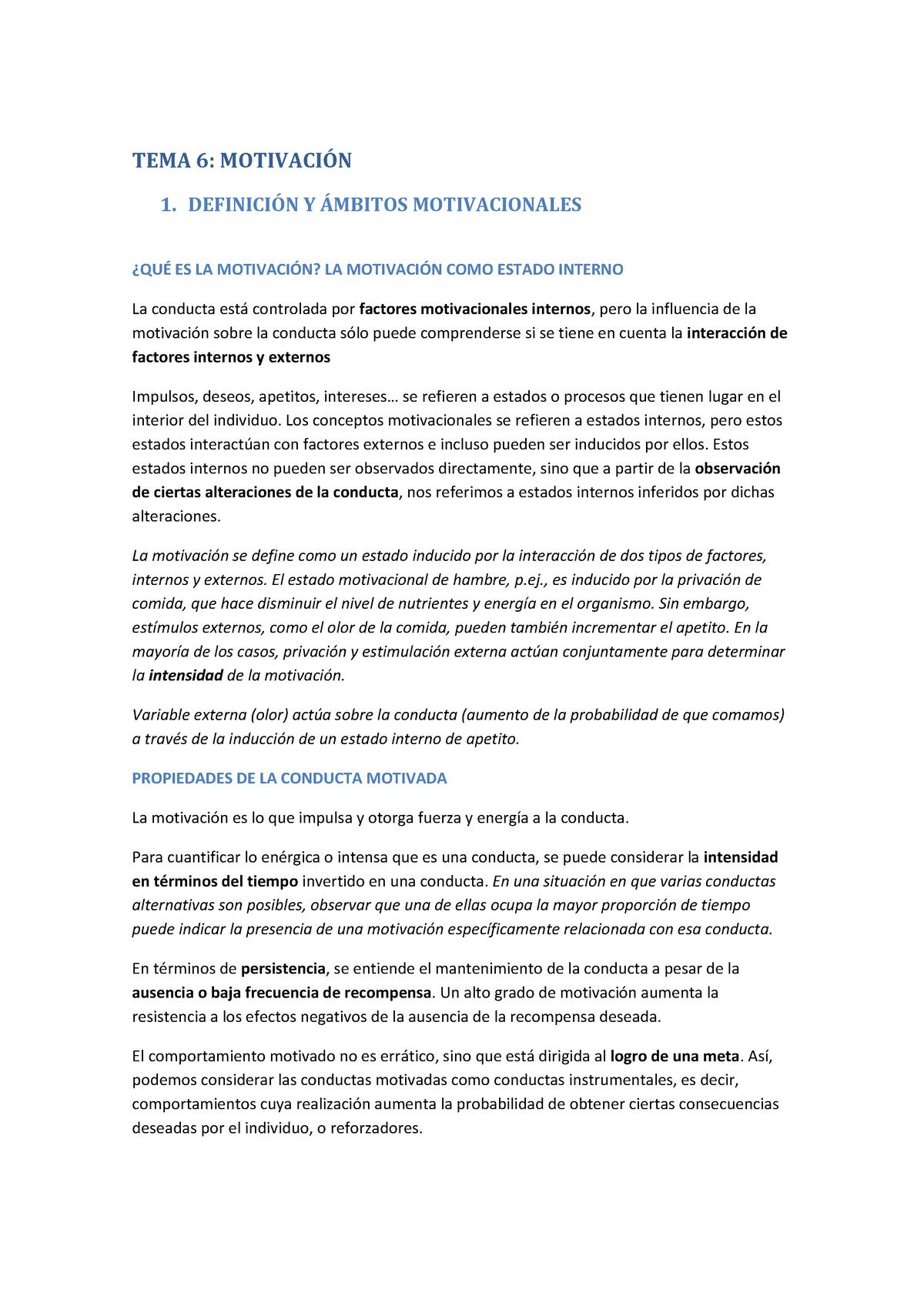T6 Motivación Ub Studocu