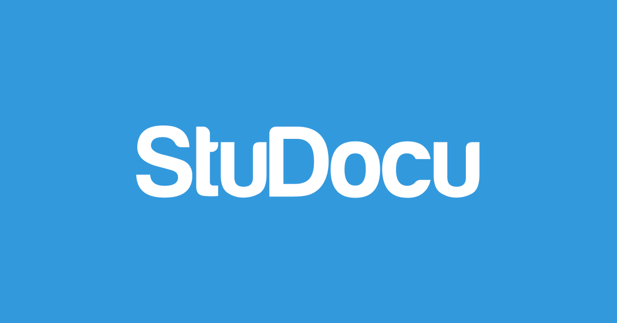 StuDocu - Free summaries, past exams & lecture notes